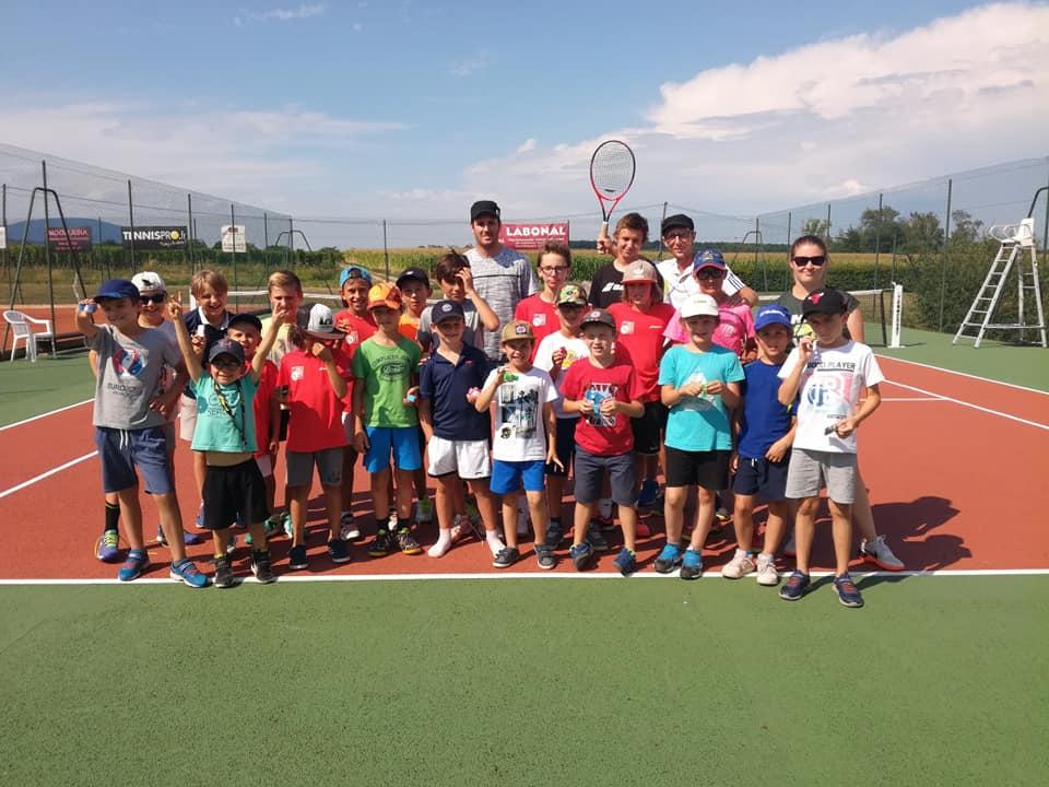 Stage de tennis d'été n°1 : du 08/07 au 12/07/2019