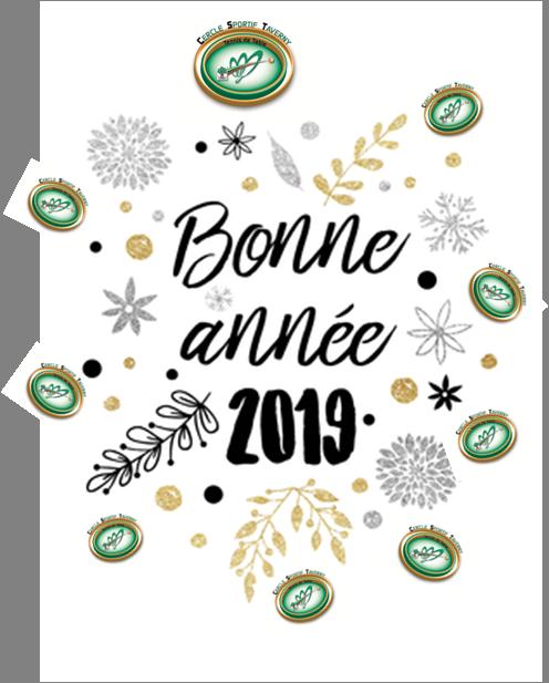 Bonne et heureuse année 2019 !!!