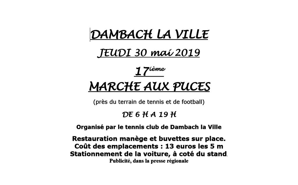 17ème Marché aux puces au TCDLV