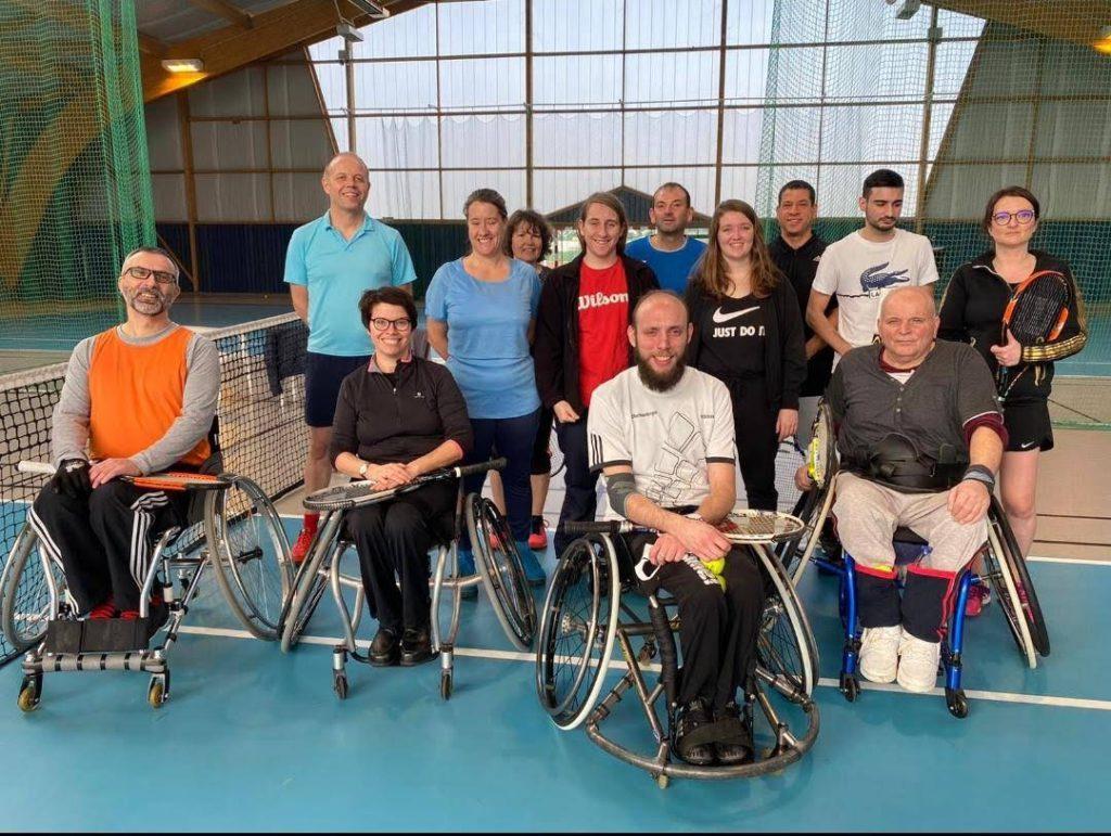 Journée découverte tennis handicap
